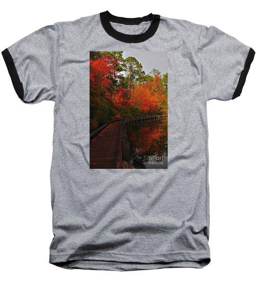 Walk Into Fall Baseball T-Shirt