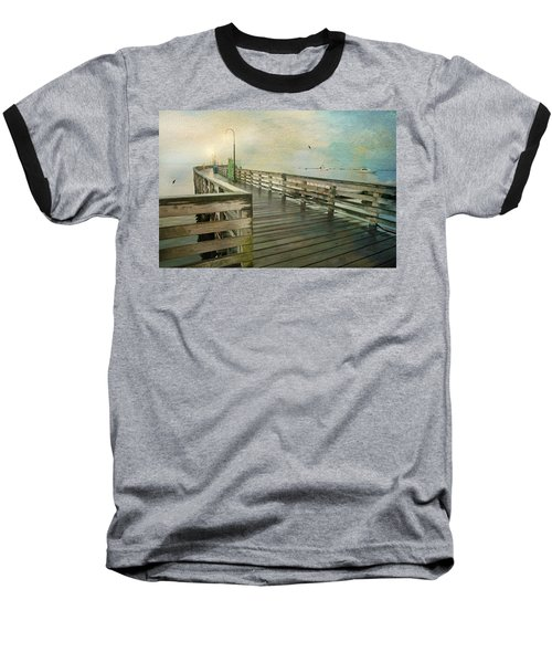 Walk On By Baseball T-Shirt by Diana Angstadt