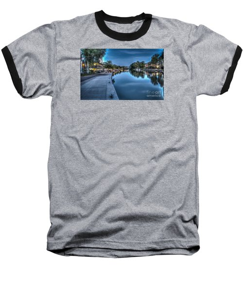 Walk On The Canal Baseball T-Shirt