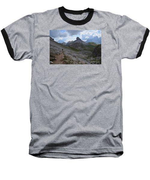 Walk On Baseball T-Shirt by Yuri Santin