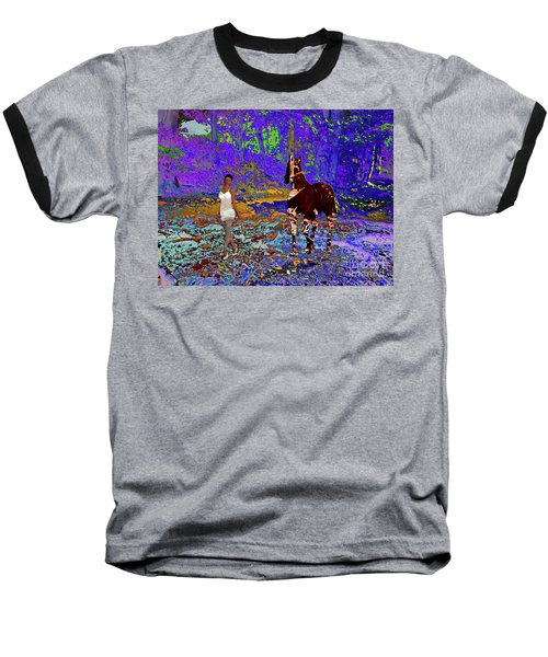 Walk The Enchanted Forest Baseball T-Shirt