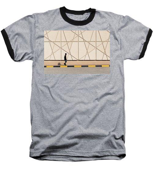 Walk The Line Baseball T-Shirt