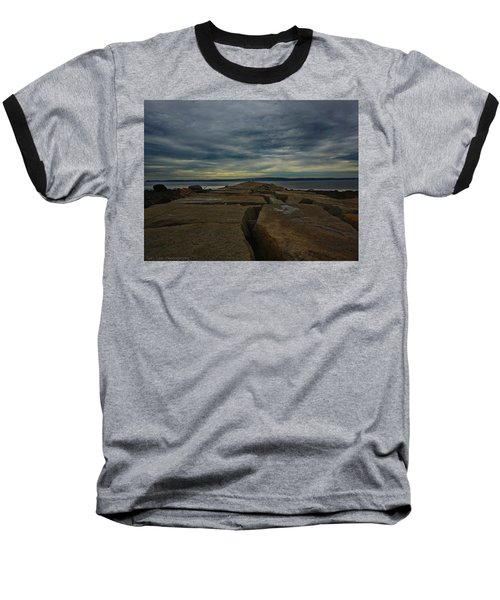 Walk To The Sea Baseball T-Shirt