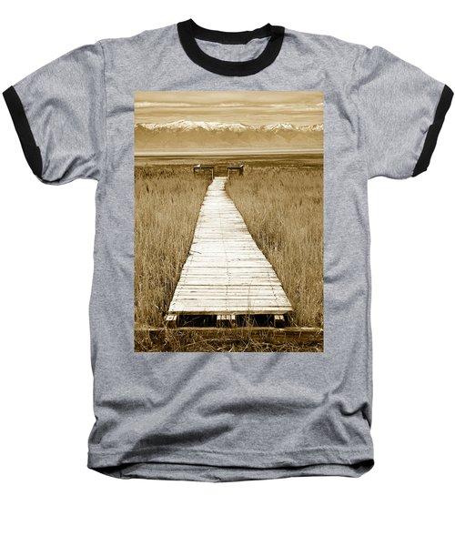 Walk With Me 1 Baseball T-Shirt