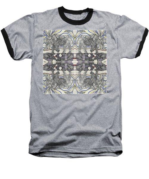 Walk With Me X 4 Baseball T-Shirt