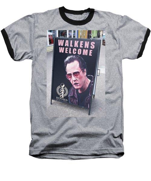 Walkens Welcome Baseball T-Shirt