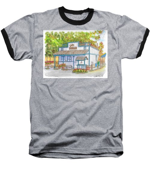 Walker Burger In Walker, California Baseball T-Shirt