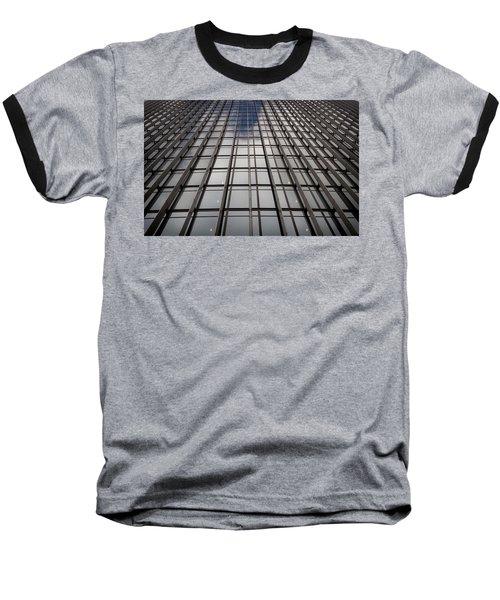 Walkie Talkie Skyscraper London Baseball T-Shirt by Shirley Mitchell