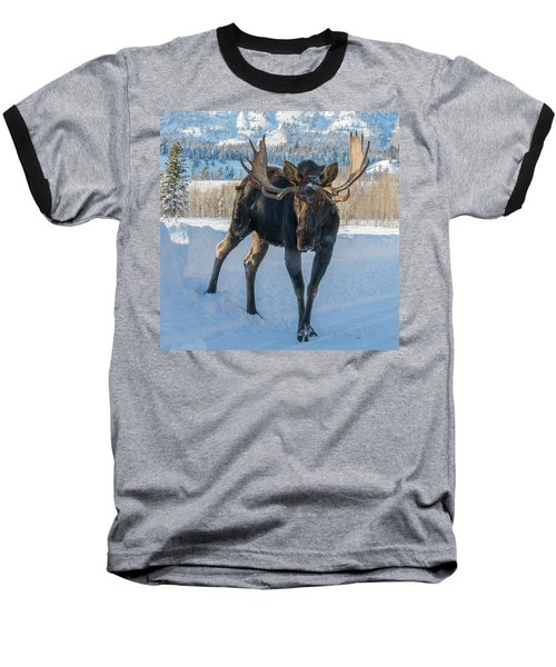 Walkin' The Road Baseball T-Shirt