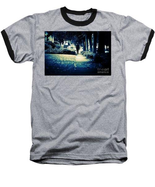 Walking A Lonely Path Baseball T-Shirt