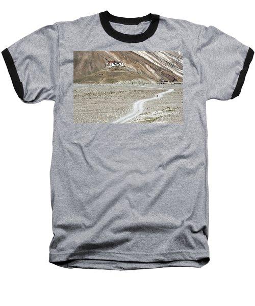 Walking Alone Baseball T-Shirt