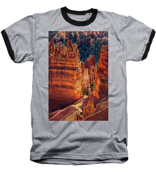 Walking Among Giants Baseball T-Shirt