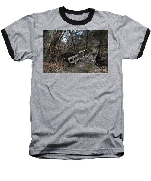 Walking Bridge Baseball T-Shirt