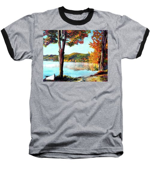 A Walk Down Lake Champlain Baseball T-Shirt