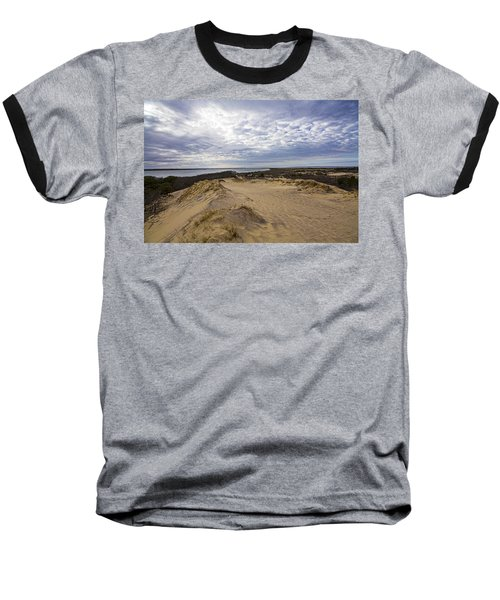 Walking Dunes Montauk Baseball T-Shirt