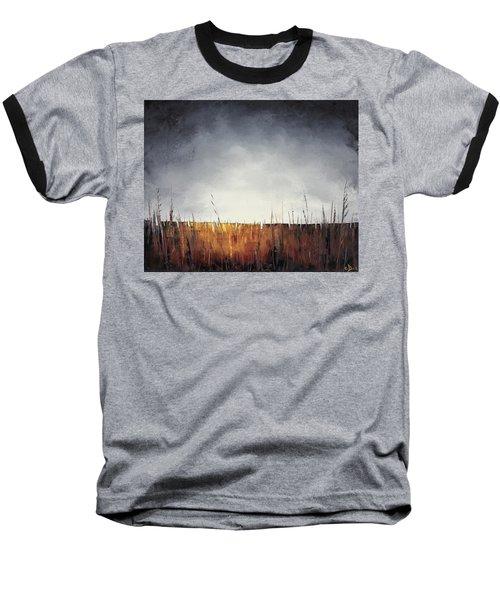 Walking, I Am Listening To A Deeper Way Baseball T-Shirt by Carolyn Doe