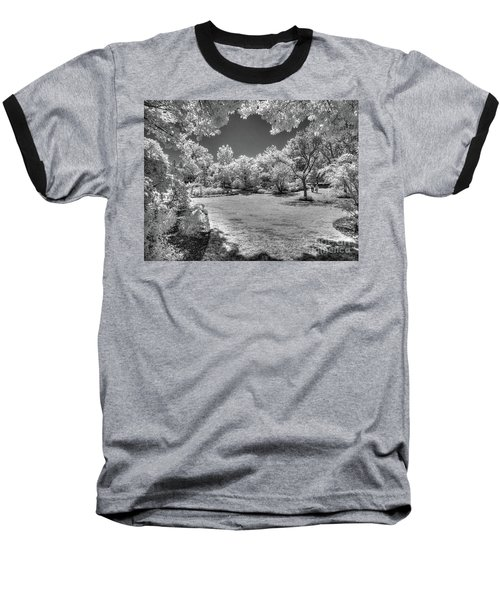 Walking In Clark Gardens Baseball T-Shirt
