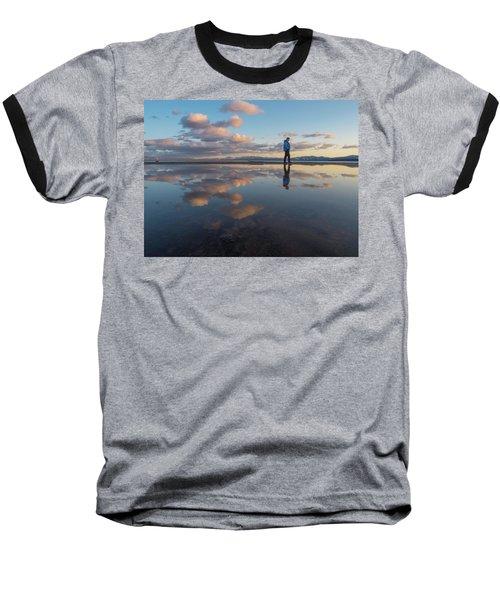 Walking In The Sunset Baseball T-Shirt