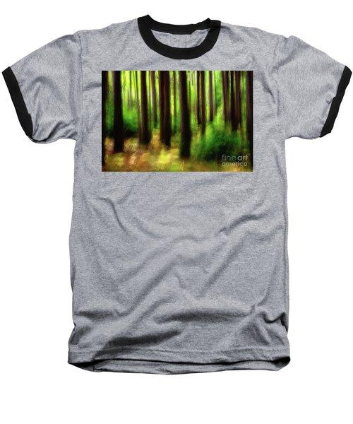 Walking In The Woods Baseball T-Shirt