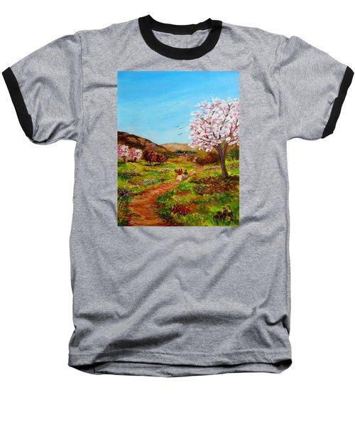 Walking Into The Springfields Baseball T-Shirt