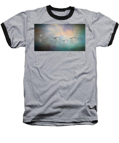 Walking Into The Sunset Baseball T-Shirt