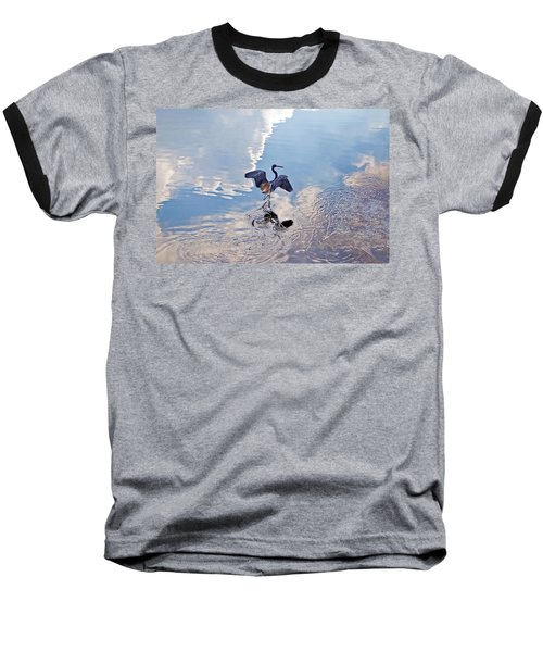 Walking On Water Baseball T-Shirt by Carolyn Marshall