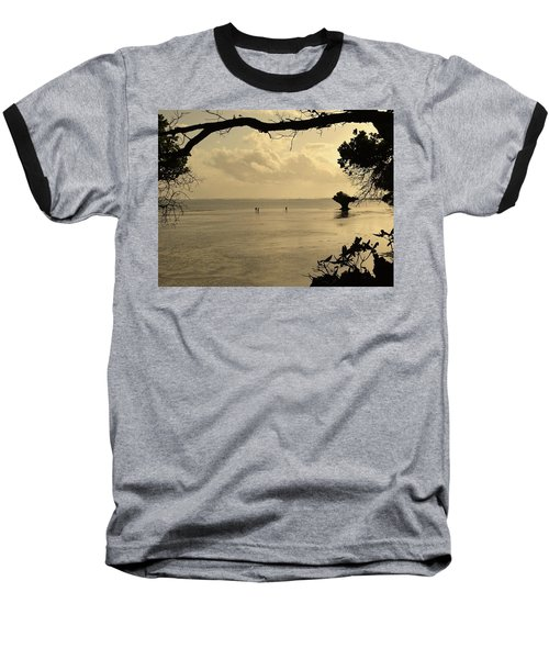 Walking On Water Baseball T-Shirt