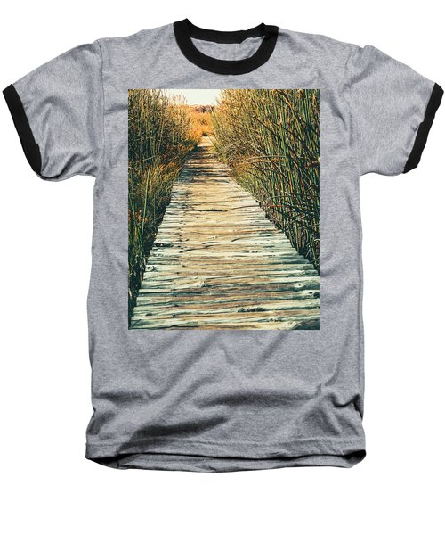 Baseball T-Shirt featuring the photograph Walking Path by Alexey Stiop