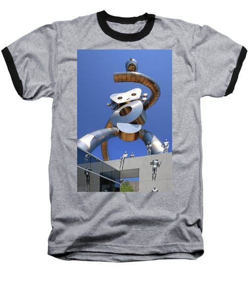 Baseball T-Shirt featuring the photograph Walking Tall Path by Christopher McKenzie