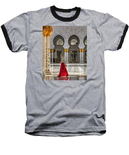 Baseball T-Shirt featuring the photograph Walking Temple by John Swartz