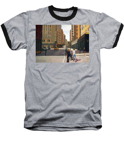 Walking The Lines Baseball T-Shirt
