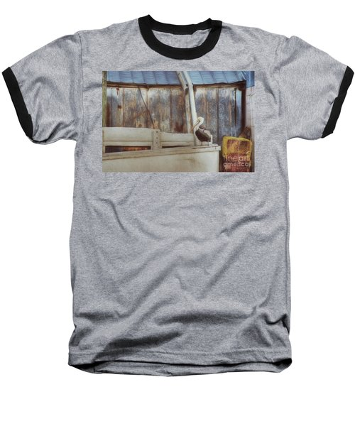 Baseball T-Shirt featuring the photograph Walking The Plank by Benanne Stiens
