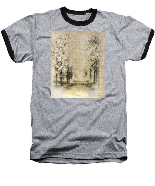 Walking Through A Dream IIi Baseball T-Shirt by Dan Carmichael