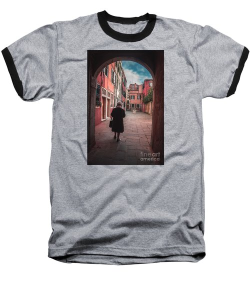 Walking Through Time - Venice, Italy Baseball T-Shirt