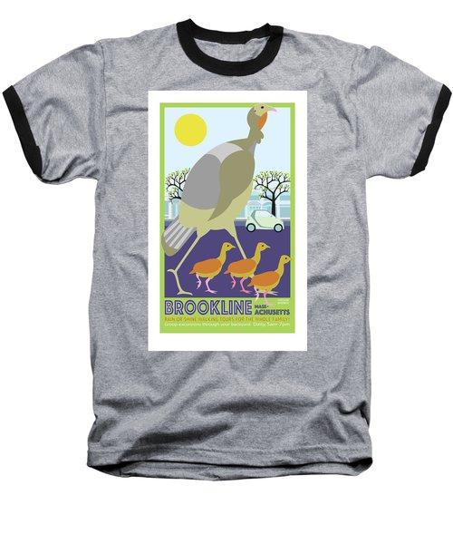 Walking Tours Baseball T-Shirt