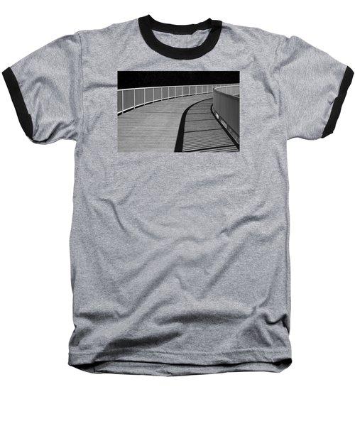Baseball T-Shirt featuring the photograph Walkway by Chevy Fleet