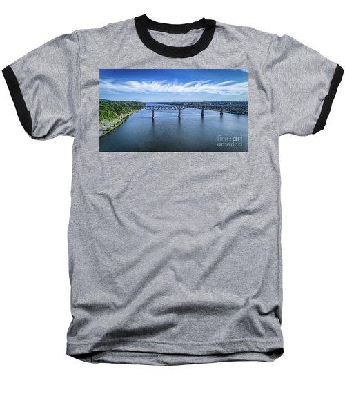 Walkway Over The Hudson Baseball T-Shirt
