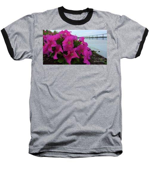 Walkway Petunias Baseball T-Shirt