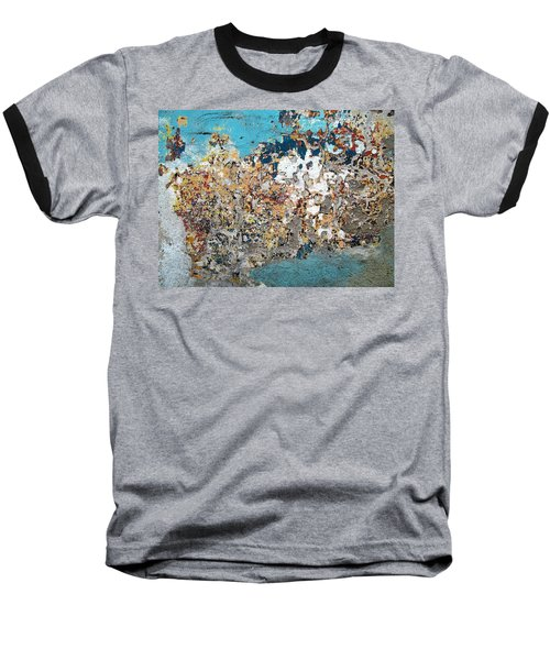 Wall Abstract 106 Baseball T-Shirt