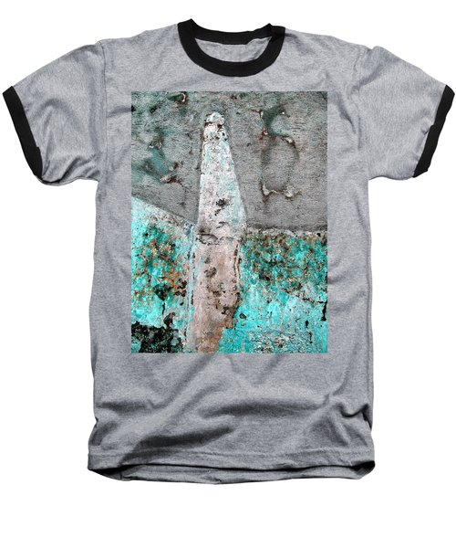 Wall Abstract 118 Baseball T-Shirt