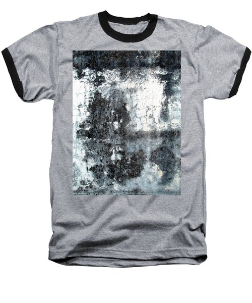 Wall Abstract 165 Baseball T-Shirt by Maria Huntley
