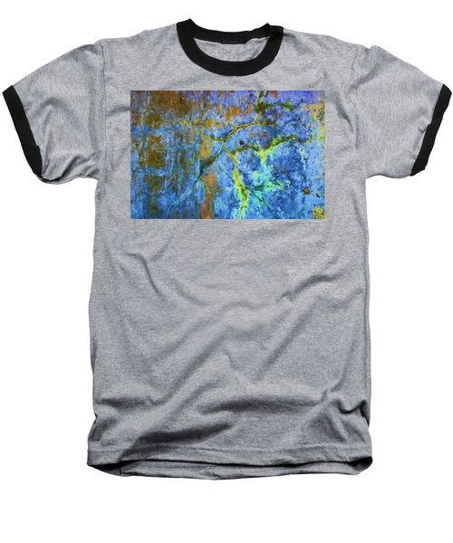 Wall Abstraction I Baseball T-Shirt