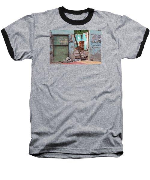 Wall, Door, Open Space In Kochi Baseball T-Shirt