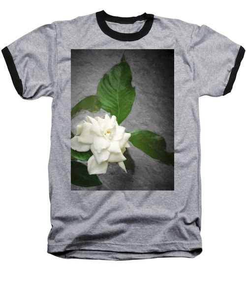 Wall Flower Baseball T-Shirt by Carolyn Marshall