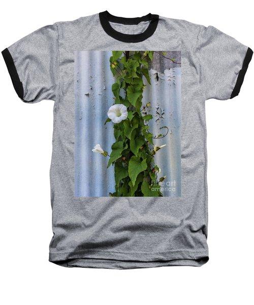 Wall Flower Baseball T-Shirt