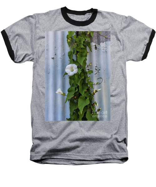 Wall Flower Baseball T-Shirt