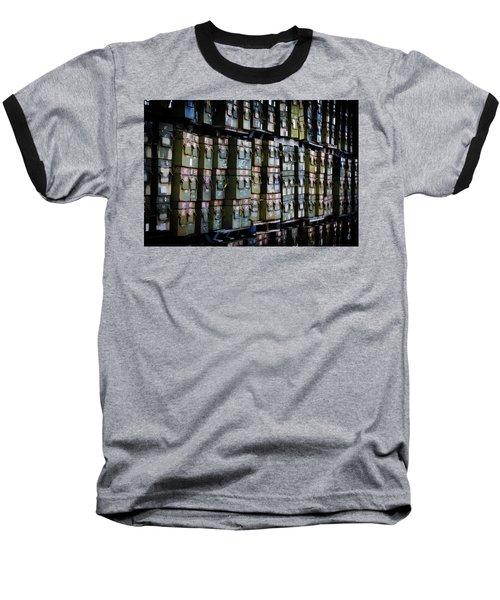 Wall Of Containment Baseball T-Shirt