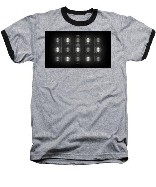 Wall Of Roundels - 5x3 Baseball T-Shirt