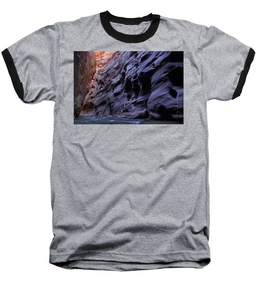 Wall Street At The Narrows At Zion National Park Baseball T-Shirt