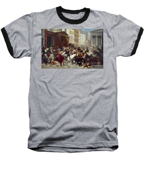 Wall Street: Bears & Bulls Baseball T-Shirt